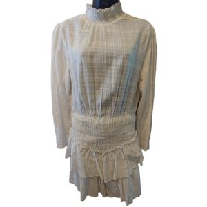 ASOS Smock Dress White Size 10